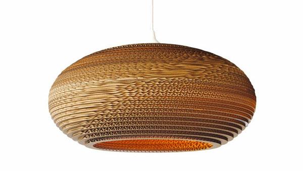 schöner großer lampenschirm hängelampe design