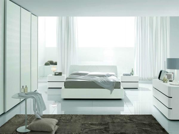 schlafzimmer komplett günstig modern gestalten bett