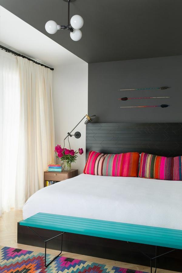 komplett günstig schlafzimmer modern gestalten bettdecke