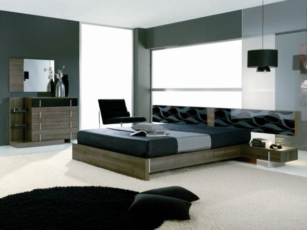 schlafzimmer komplett günstig gestalten grau