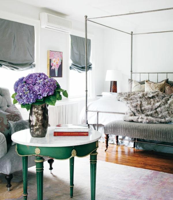 schlafzimmer komplett gestalten modern günstig nachttisch rund