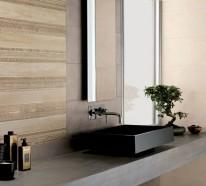 Moderne Waschbecken lassen das Badezimmer zeitgenössischer aussehen