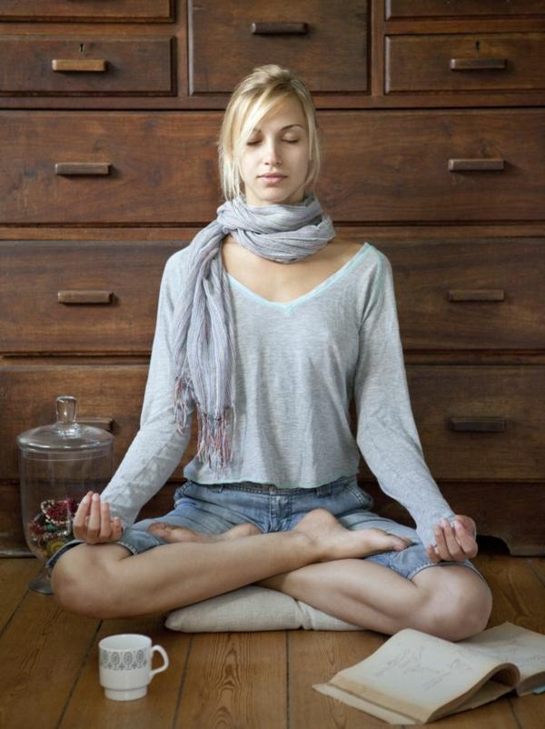 selbstbewusstsein trainieren meditieren an sich glauben