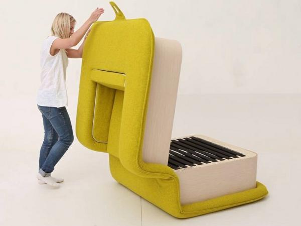 Sessel mit schlaffunktion multifunktional und platzsparend for Sessel ausziehbar