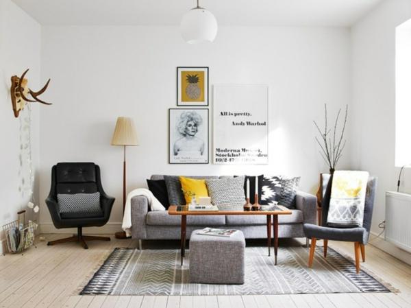 Skandinavisches Design Möbel, Innedesign