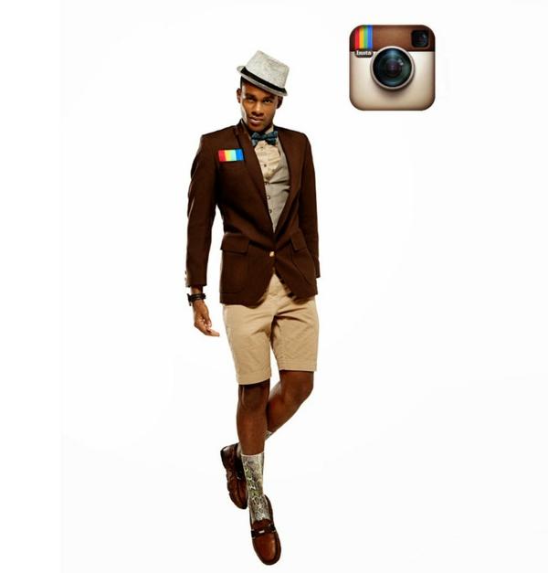 Soziale netzwerke instagram braune töne
