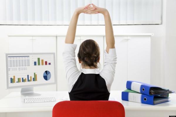 stress abbauen büro übungen