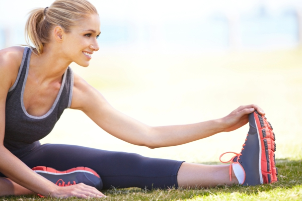 stress abbauen gymnastik sport treiben