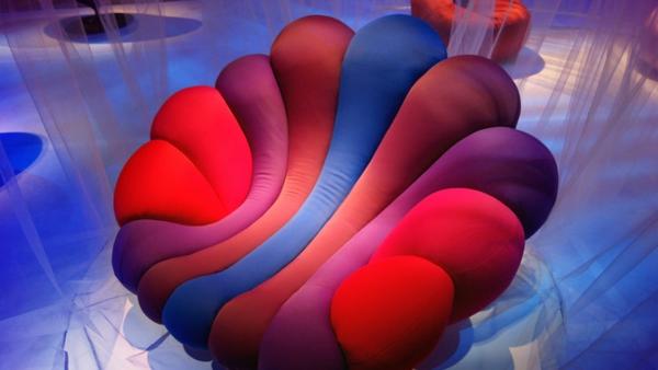 stressless sessel blau rot anemone