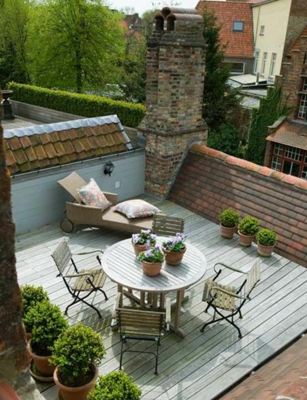 terrassenbelag holz außenmöbel dielenboden
