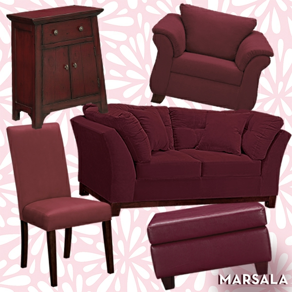 m bel lackieren marsala trendfarbe 2015. Black Bedroom Furniture Sets. Home Design Ideas