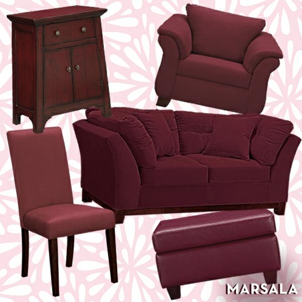 trendfarbe marsala winter 2015 wohnzimmer