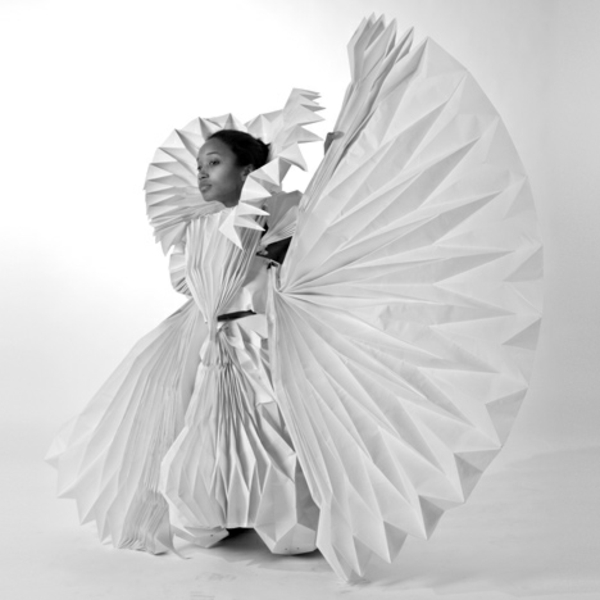 umwerfende Kostümideen für Karneval  aus Papier Tara Keens design
