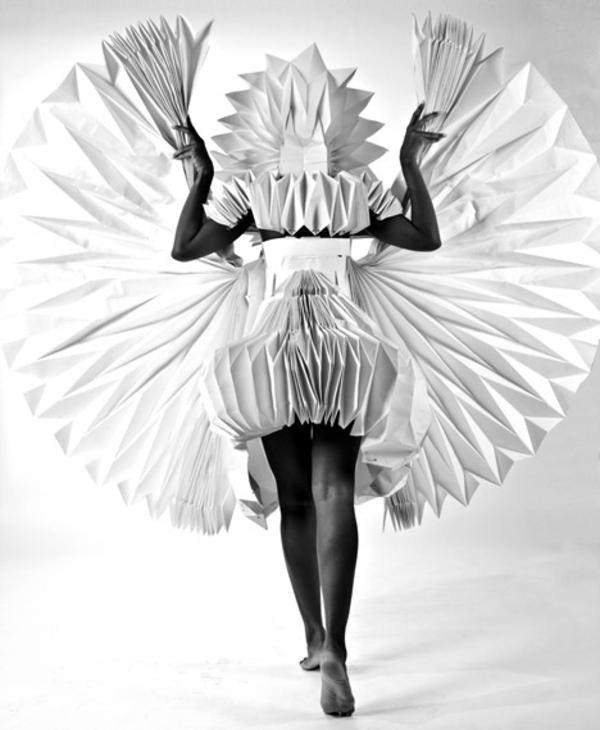 exotisch Kostümideen Karneval aus Papier Tara Keens