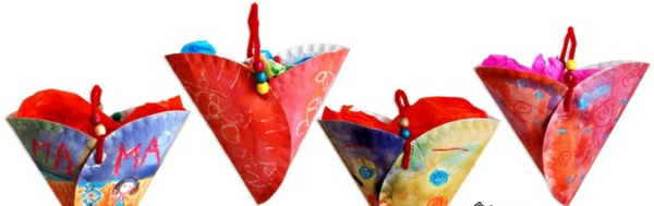 valentinstag bilder ideen geschenke bunt pappe