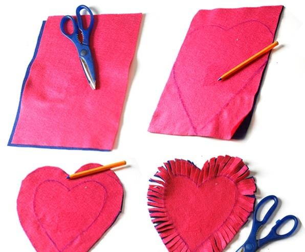 valentinstag bilder ideen geschenke papier girlanden