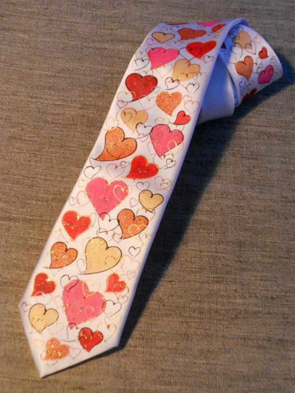 Valentinstag Für Männer Krawatte