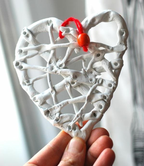 valentinstag geschenke basteln trocknen