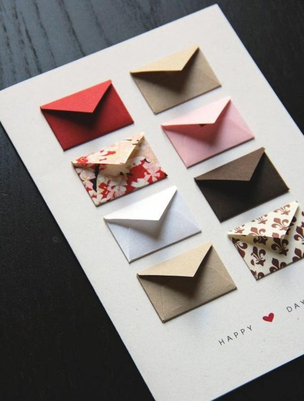 valentinstagsgeschenke für männer zum selbermachen postkarten