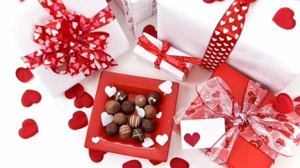 valentinstag geschenke für männer zum selbermachen pralinen
