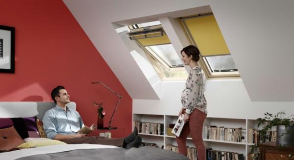 Moderne Gunstige Wohnwand : Dunkelgraue und hellgraue Wandfarben im Schlafzimmer – virtuelle