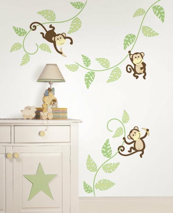 Wandsticker Kinderzimmer - Farbe und Freude an der ...