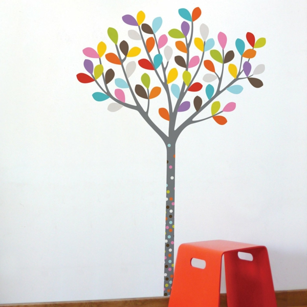 wandsticker kinderzimmer farbe und freude an der. Black Bedroom Furniture Sets. Home Design Ideas