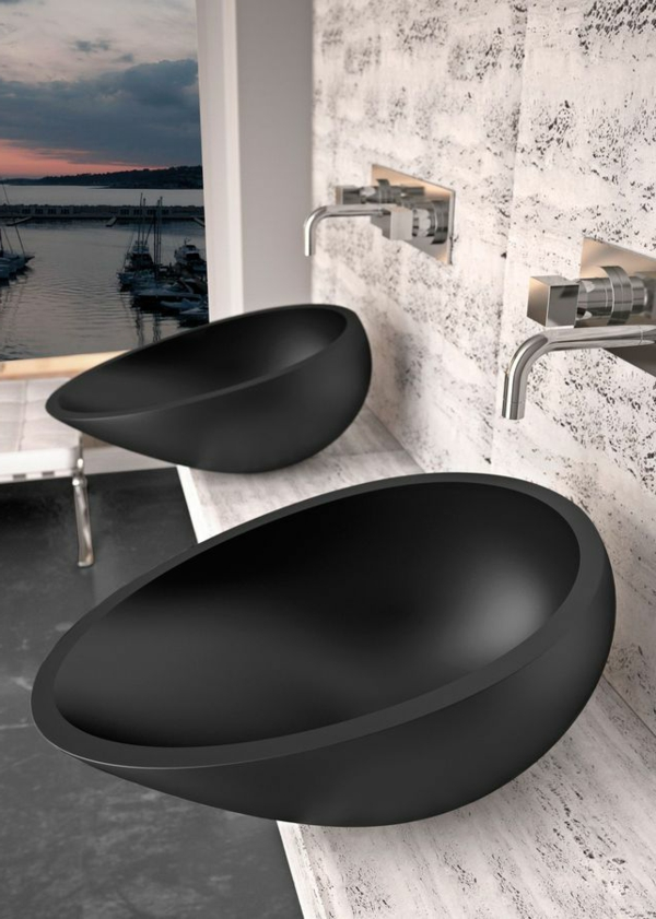 waschbecken bad rund great waschbecken rund mit. Black Bedroom Furniture Sets. Home Design Ideas