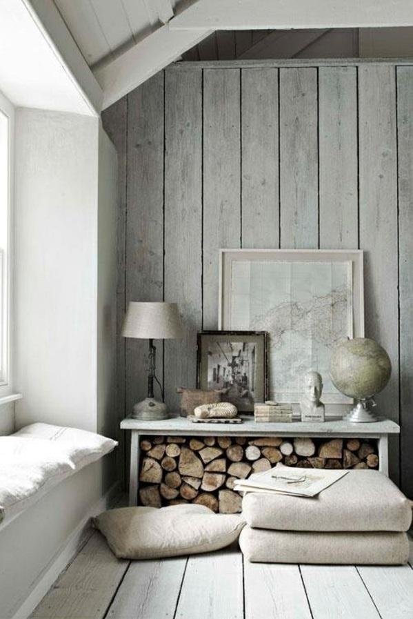 wohnzimmer Innendesign Ideen rustikal