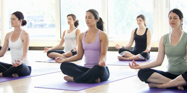 yoga Kalorienverbrauch beim Sport asanas