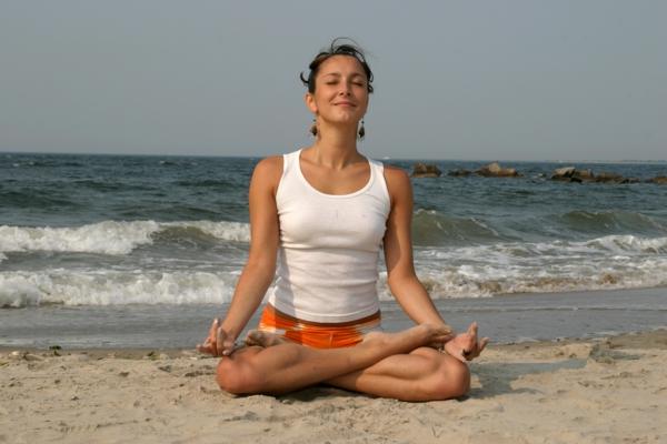 yoga entspannung lotos asana