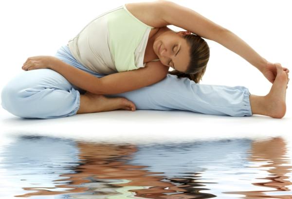 yoga entspannung strecken recken