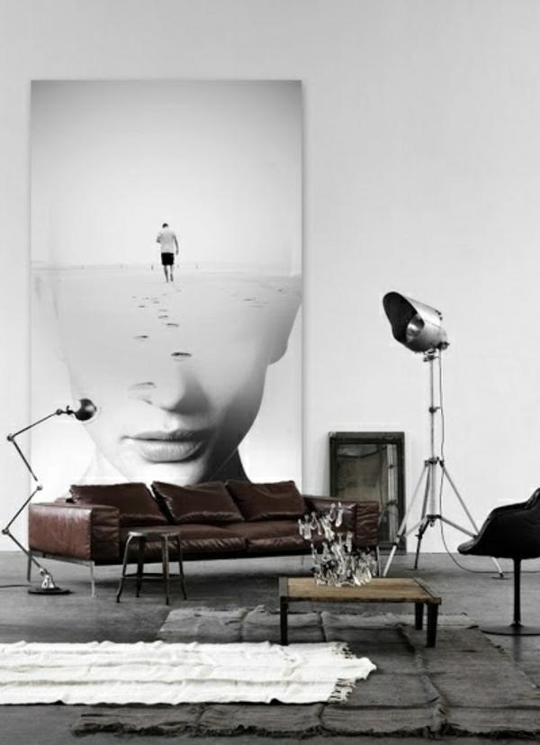 zeitgen ssische kunst zu hause ausstellen. Black Bedroom Furniture Sets. Home Design Ideas