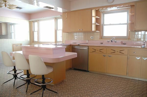 50er jahre k che ein authentisches st ck amerikanische. Black Bedroom Furniture Sets. Home Design Ideas