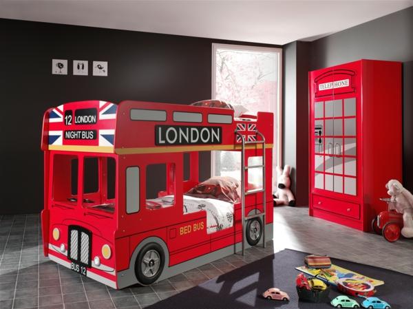 Ausgefallene Kinderbetten Kinderbett Bus SCBBLB Ideas