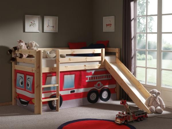 Kinderbett junge bus  Ausgefallene Kinderbetten lassen Ihre Kinder wie im 7. Himmel schlafen