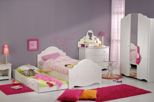Ausgefallene Kinderbetten kinderzimmer ideen kinderbett mädchen alice