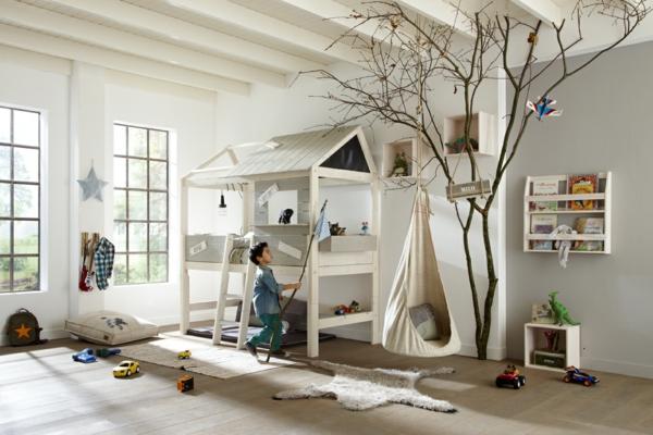 Ausgefallene Kinderbetten lassen Ihre Kinder wie im 7. Himmel schlafen