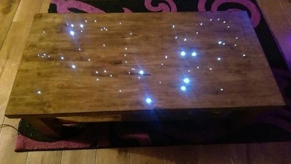 Badezimmer Boden Faser Optik Holz