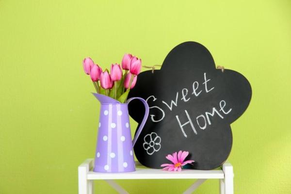 basteln im fr hling stimmungsvolle bastelvorlagen f rs zuhause. Black Bedroom Furniture Sets. Home Design Ideas