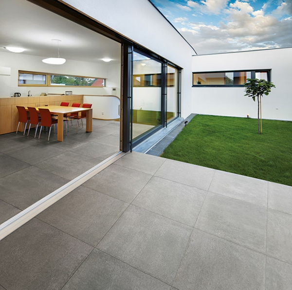Concrete bodenfliesen außenbereich beton