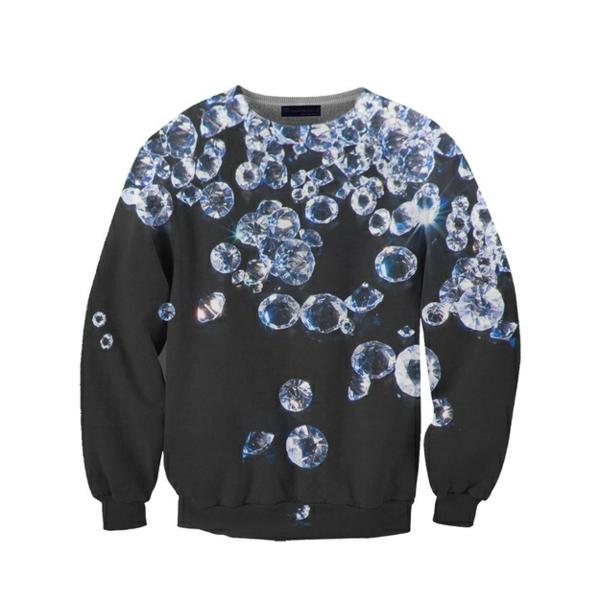 glanzend T-Shirts designen juwelen sweater