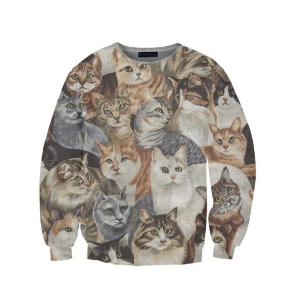 lustig T-Shirts designen pulli katzen Coole