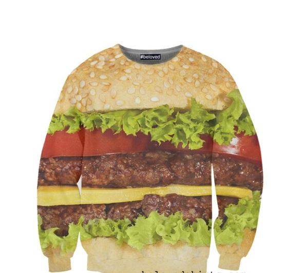 Coole T-Shirts designen sweate  burger