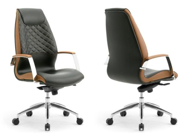 Ergonomie am Arbeitsplatz büroeinrichtung ergonomischer bürostühle ledersessel