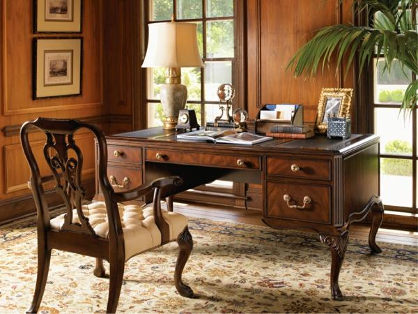 Ergonomie am Arbeitsplatz büroeinrichtung traditionelle büromöbel