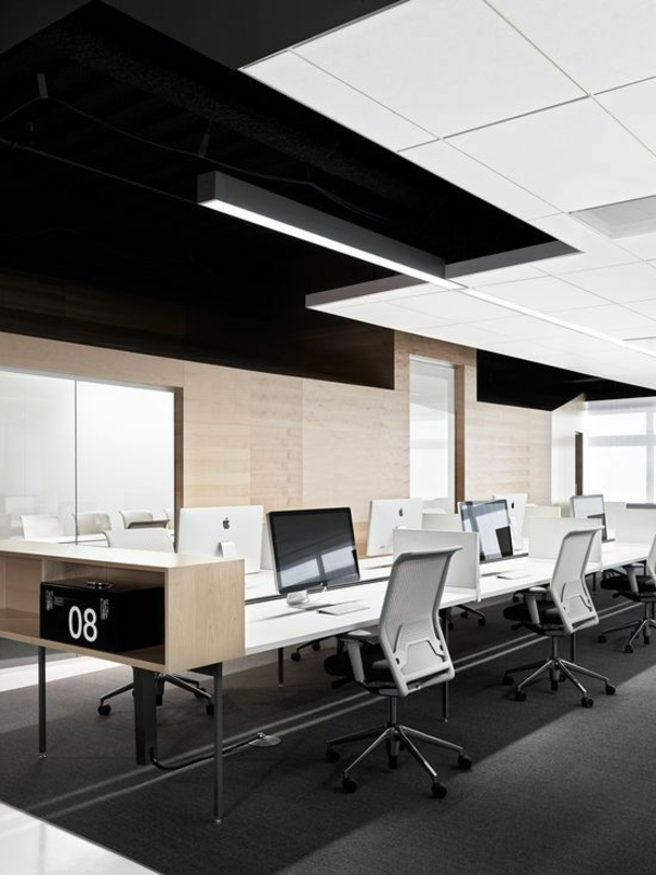 Moderne Büroeinrichtung Zuhause ~ Ergonomie am Arbeitsplatz moderne büroeinrichtung büromöbel office
