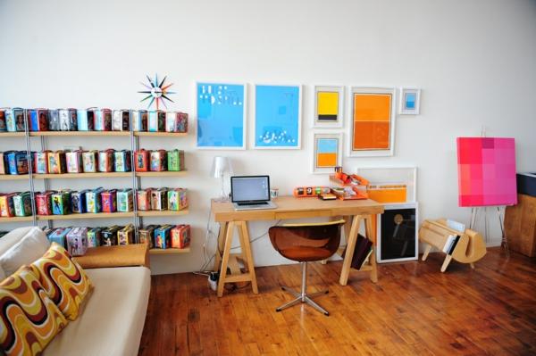 Ergonomie am Arbeitsplatz moderne büromöbel homeoffice gestalten
