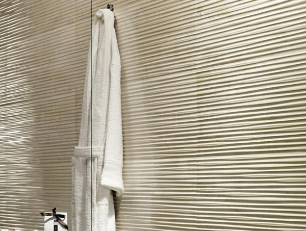 Evoque bagno hotel wandfliesen beige