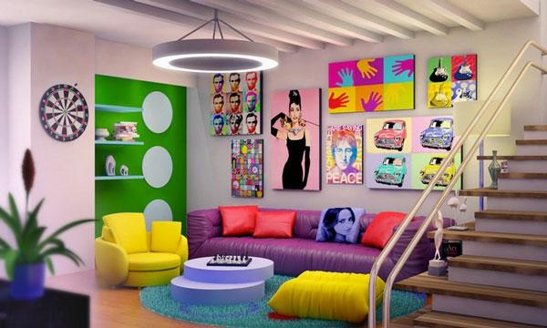 wohnzimmer trends 2015:Farbgestaltung im Wohnzimmer – Farbideen und Wohntrends 2015